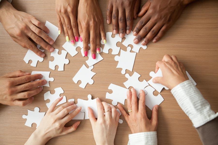 team puzzle solving